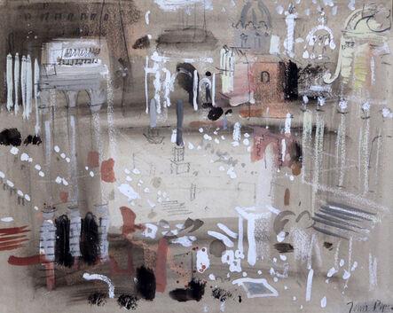 John Piper, 'The Forum, Rome', 1961