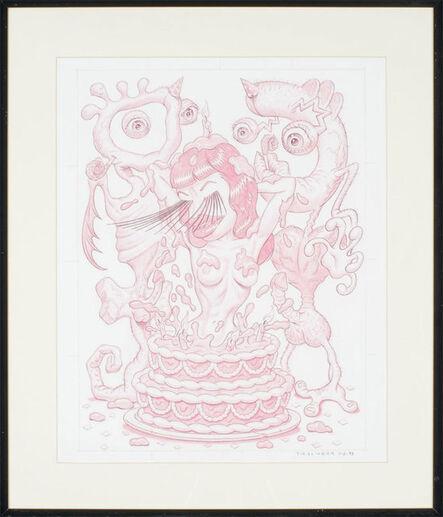 Todd Schorr, 'Surprise Cake Girl', 1993