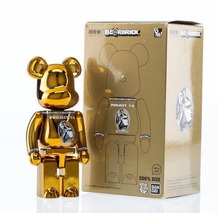 BE@RBRICK X Project 1/6, 'Centurion 200% (Gold)', 2015