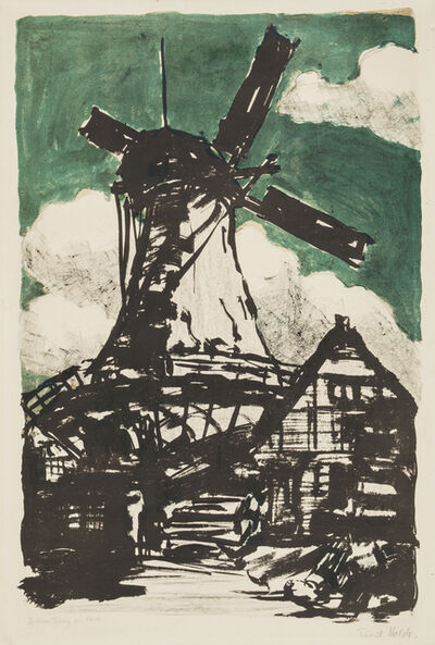 Emil Nolde, 'Big Windmill', 1907