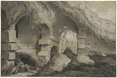 Charles Michel-Ange Challe, 'The Interior of the Colosseum', ca. 1745