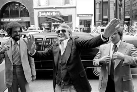 Allan Tannenbaum, 'Steve Martin, On Fifth Avenue', 1977