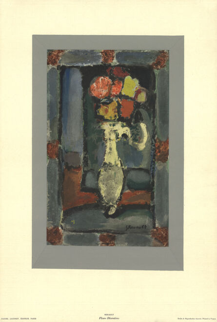 Georges Rouault, 'Fleurs Decoratives', 1965