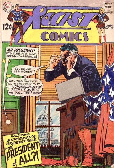 Kumasi Barnett, 'Racist Comics #371  The President of All?!', 2015-2018