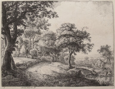 Anthonie Waterloo, 'The Great Landscapes III, (3rd State)', ca. 1650