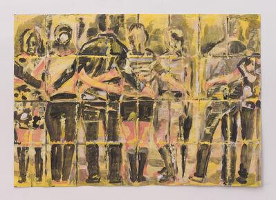 Adam Adach, 'Black umbrella', 2018