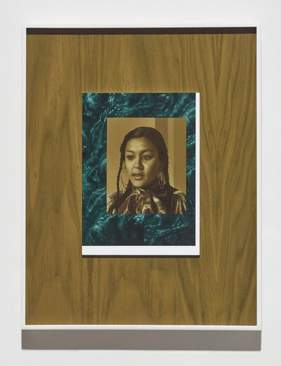Andrew Sendor, 'Portrait of Saturday on the north wall of her living room', 2016
