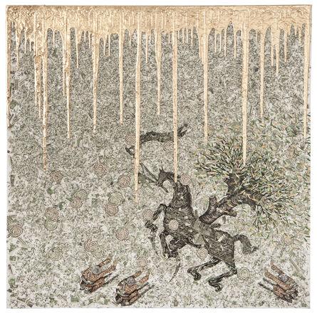 Andrew Schoultz, 'Storm Weatherer', 2012