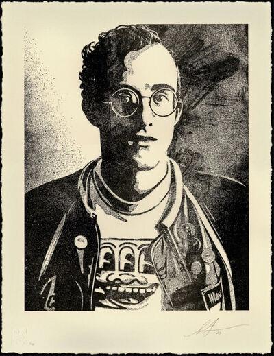 Shepard Fairey, 'Keith Haring: Art is for everyone - Letterpress', 2020