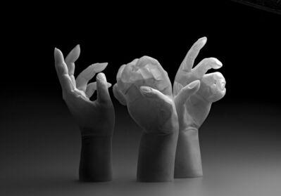 Martin Janecký, 'Studies of Hands', 2018