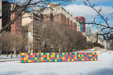 Tony Tasset, 'Artist Monument', 2014