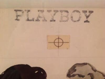 LeRoy Neiman, 'The Thinker (Playboy)', 1982