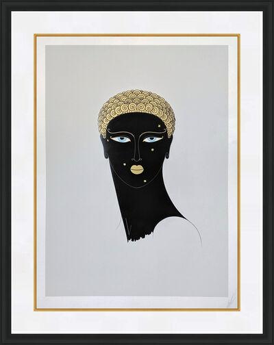 Erté (Romain de Tirtoff), 'QUEEN OF SHEBA', 1980