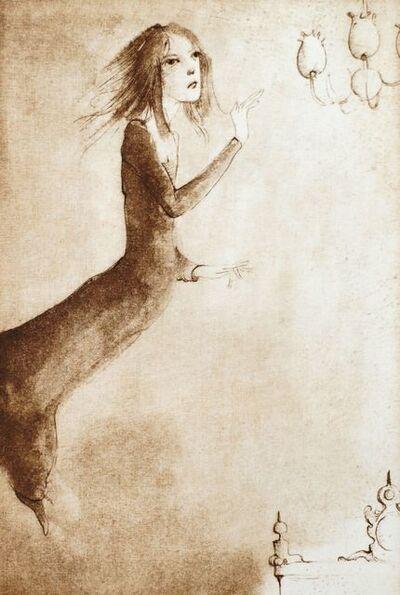 Leonor Fini, 'Les Descriptions Merveilleuses', 1973