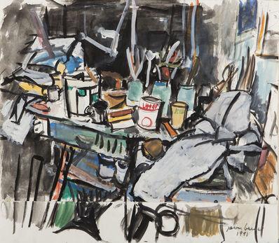 Jason Berger, '[Artist Studio]', 1991
