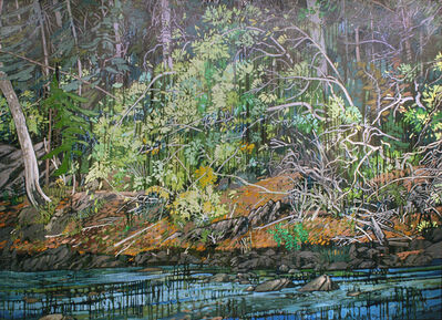 Ted Godwin, 'Streamside Willow'