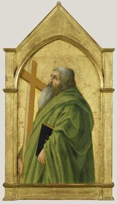 Masaccio, 'Saint Andrew', 1426
