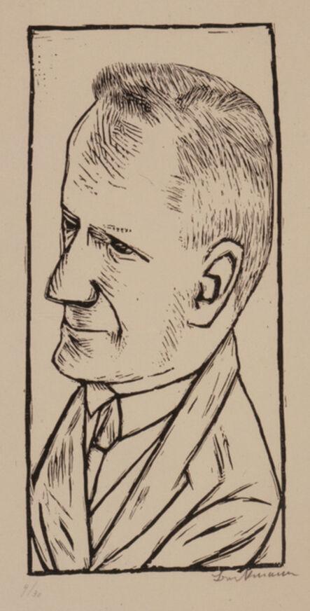 Max Beckmann, 'Portrait of Reinhard Piper', 1922