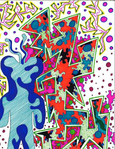 Michon Proctor, 'Graphic Bacilli Bear', 2021