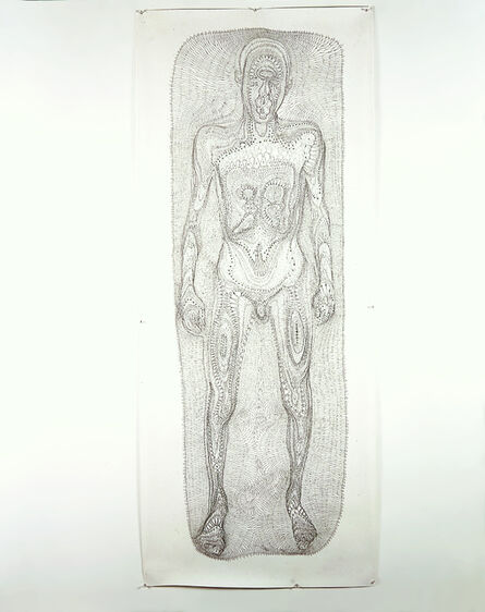 Tim Hawkinson, 'Bathtub Generated Contour Lace', 1995