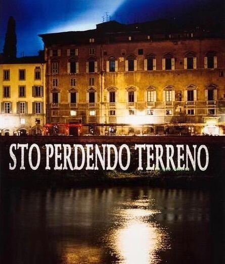 Jenny Holzer, 'Sto Perdendo Terreno', 2001