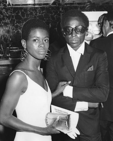 Ron Galella, 'Cicely Tyson and Miles Davis, New York', 1968