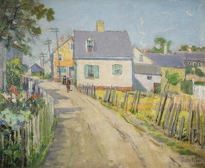 Pauline Palmer, 'Backstreet, Provincetown', ca. 1920s