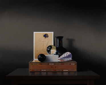 Guy Diehl, 'Conversation with Egon Schiele', 2019