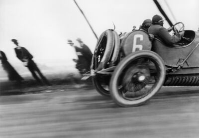 Jacques Henri Lartigue, 'Grand Prix de l'ACF, automobile Delage, Circuit de Dieppe', 1912