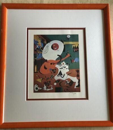 Joan Miró, 'Dutch Interior', 1928