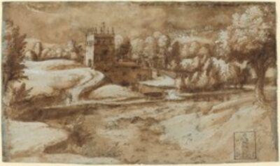 Gherardo Cibo, 'View near Rosora di Serra San Quirico'