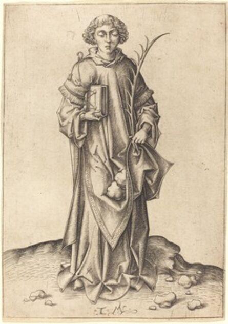 Israhel van Meckenem, 'Saint Stephen'