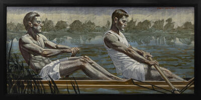 Mark Beard, '[Bruce Sargeant (1898-1938)] Two Rowers, Early Morning Practice', n.d.