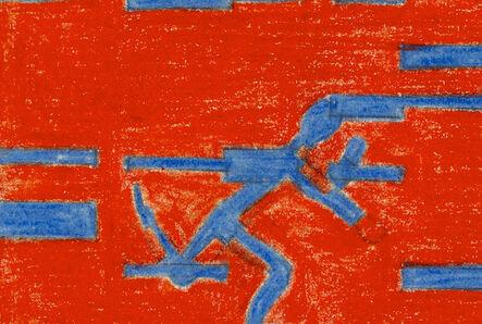 Analivia Cordeiro, 'men/ambience III, 0°=45°', 1974