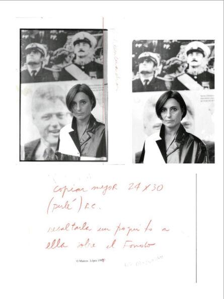 Liliana Maresca, 'Untitled. Imagen pública - Altas esferas, Costanera Sur, Buenos Aires. Composition', 1993
