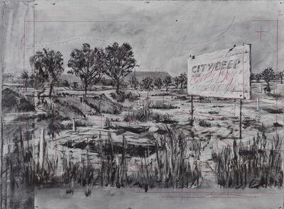 William Kentridge, 'Drawing for City Deep (City Deep Title)', 2020