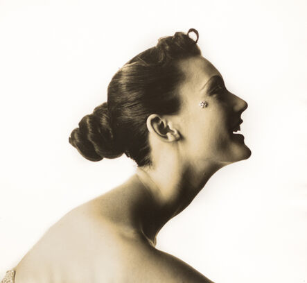 Irving Penn, 'Woman with Cheek Jewelry', ca. 1949