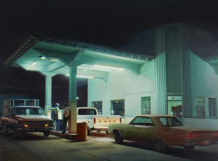 Robert Gniewek, 'Pemex Station, Agua Prieta', 2016