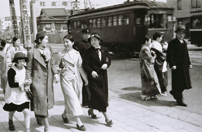 Deng Nan-Guang 鄧南光, 'Tokyo Snap - Modern Girls 2', 1930-1935