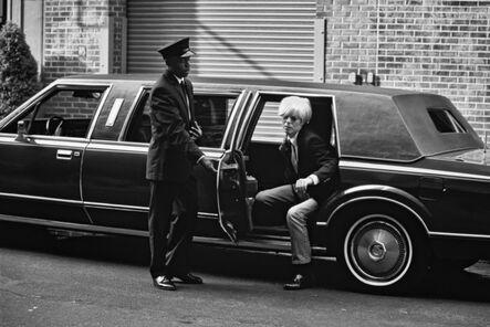 Lynn Goldsmith, 'David Bowie as Andy Warhol '