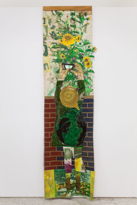 Paula Wilson, 'Sunflower', 2017