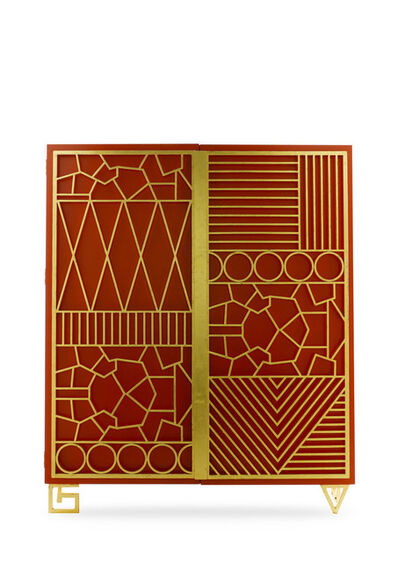 "Elizabeth Garouste, '""Geometric"" Cabinet', 2006"