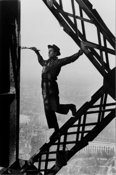 Marc Riboud, 'Painter on the Eiffel Tower', 1953