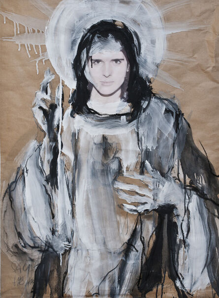 Peter Raneburger, 'sacred heart', 2017