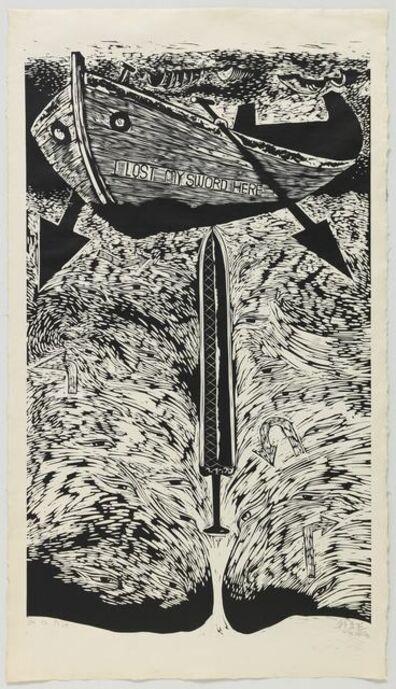 Qiu Zhijie, 'I Lost my Sword Here', 2008