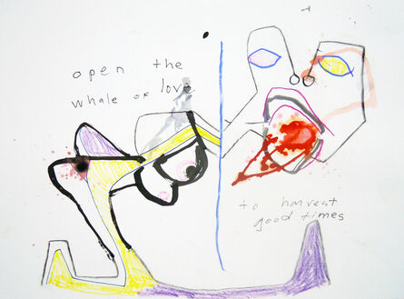 Olivier Martineau, 'Open the Whale of Love', 2016