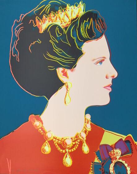 Andy Warhol, 'Queen Margrethe II of Denmark (FS II.343)', 1985