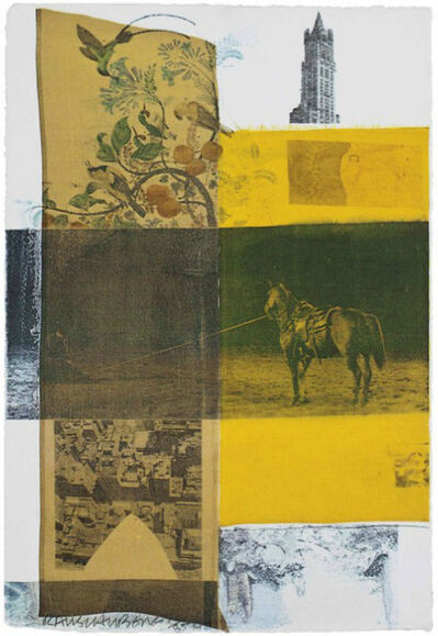 Robert Rauschenberg, 'Arcanum VIII , from Arcanum', 1981