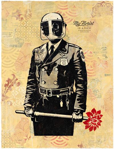 Shepard Fairey, 'My Florist is a Dick, HPM', 2015