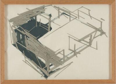 Tadashi Kawamata, 'Site Plan 7', 1991